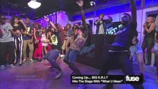 Dancehall Choreography on National TV again! (Fuse TV)