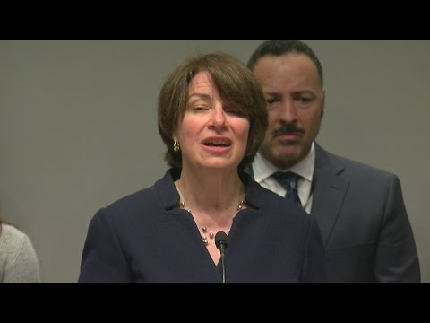 Klobuchar Pushes For Support On Bills Aiming To Stop Opioid Abuse
