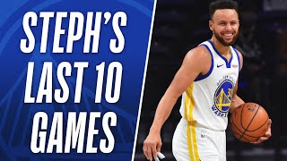 Steph's BEST 3's from HISTORIC Shooting Stretch! 🔥