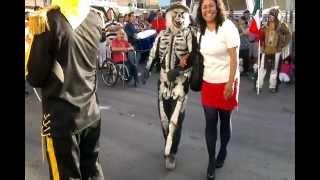 Danza de apaches Halcones de Queretaro 28 y julio 2012
