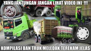 Download Kompilasi Video Ban Truk Meledak di Sitinjau Lauik