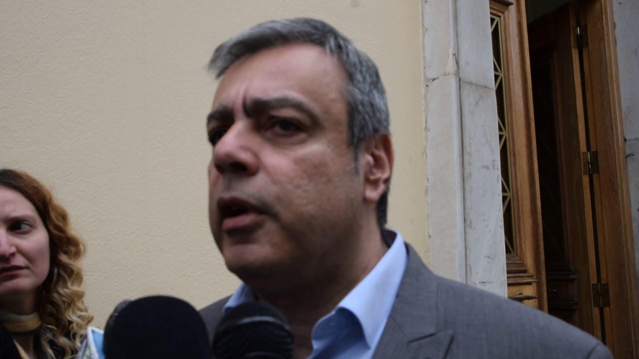 Δηλώσεις Υπουργού Επικρατείας, Χριστόφορου Βερναρδάκη από Τρίπολη