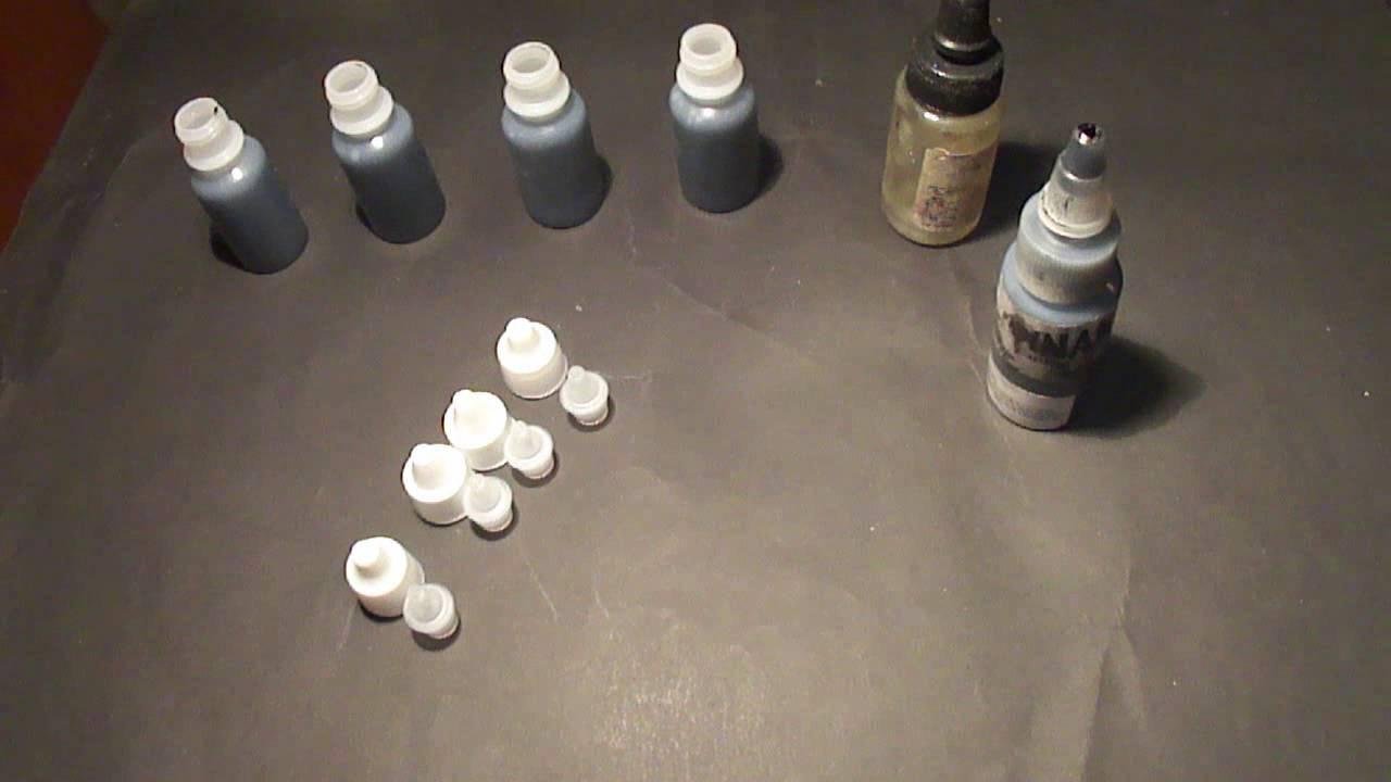 black u gray como hacer nuestras mezcla de tinta negra a escalas de grises youtube