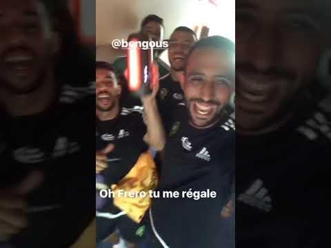 Benatia e la nazionale del Marocco: musica e festa!