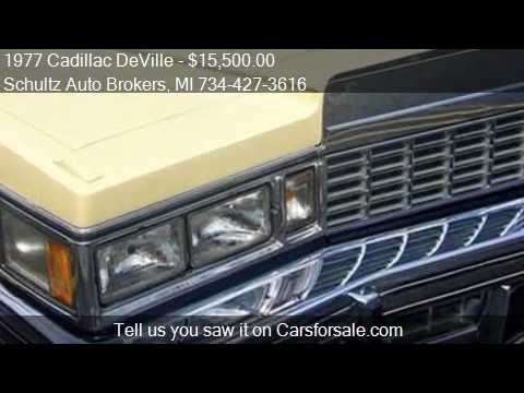 1977 Cadillac DeVille for sale in Livonia, MI 48150 at the S