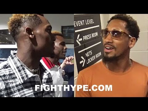 """CHARLO BROTHERS GET INTO HEATED VERBAL ALTERCATION WITH DEMETRIUS ANDRADE: """"HE A BEGGAR...HE A BUG"""""""