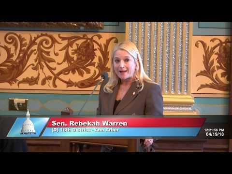 Sen. Rebekah Warren Said Single Mothers Who Work Should Receive Healthcare