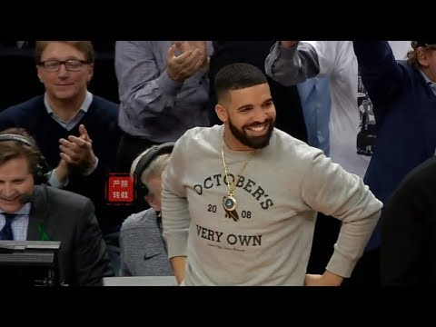 Raptors Absolutely Destroys Wizards, Crowd Goes Crazy And Drake Loves It!
