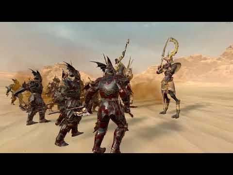 Ushabti VS Depth Guard   Total War: Warhammer 2  