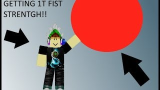 GETTING 1T FS - SUPER POWER TRAINING SIMULATOR - roblox