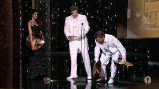 """Man or Muppet"" Wins Original Song: 2012 Oscars"
