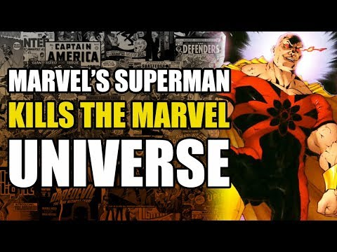 Marvel's Superman Kills The Marvel Universe (Exiles: King Hyperion)