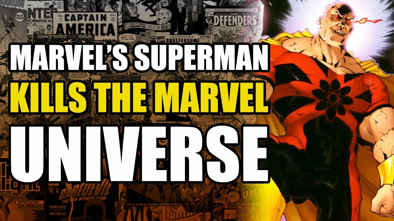 premium selection 4bf75 b2a29 Marvel s Superman Kills The Marvel Universe (Exiles  King Hyperion)
