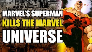Marvel's Superman Kills The Marvel Universe (Exiles: King Hyperion)