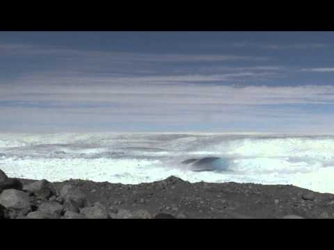 Jakobshavn Glacier Calving June 20th 2015.mov