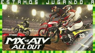 🎮ESTAMOS JUGANDO A | MX VS ATV ALL OUT | PC Gameplay Español