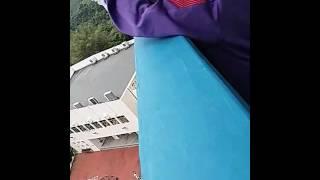 佛教中華康山學校科技探究日 雞蛋降落傘 1月10日第二次測試