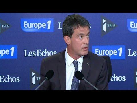 """Manuel Valls : """"Sarkozy s'est trompé en 2012 sur la menace terroriste"""""""