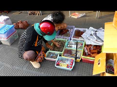 Most Famous Market in Cambodia | CAMBODIA 2019 Ep.41
