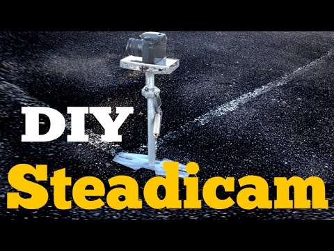 How to Diy Cheap Stedicam Glidecam part 1