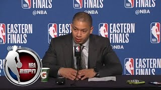 [FULL] Tyronn Lue press conference after Cavaliers-Celtics Game 3  NBA on ESPN