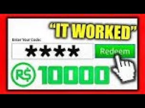 Roblox Promo Codes Gives You Free Robux Legit August 2019 - roblox gift card codes unused 2017 june