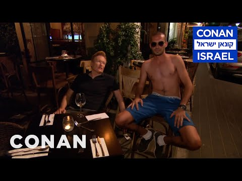 Thumbnail: Conan Wanders Tel Aviv At Night - CONAN on TBS