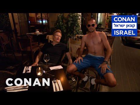 Conan Wanders Tel Aviv At Night  - CONAN on TBS