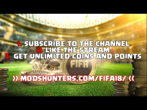 Fifa 18 Free Coins  -  Fifa 18 Coins Hack  - Fifa 18 Points Hack