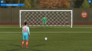 Dream league soccer 17/ Penaltı,serbest antreman ve frikik çekme