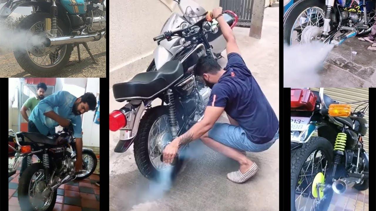 Yamaha RX Exhaust Compilation. || Rx 135 ||