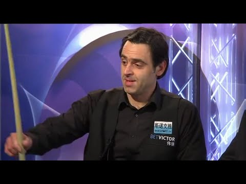 Ronnie O'Sullivan Interview on why he made a 146 instead of a 147 - 2016 Welsh Open
