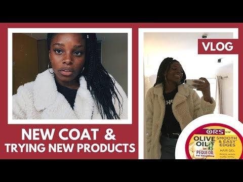 VLOG: My Apple Mac Played me & trying out ORS Olive Oil Edge Control w/ Pequi Oil | Deborah Iona