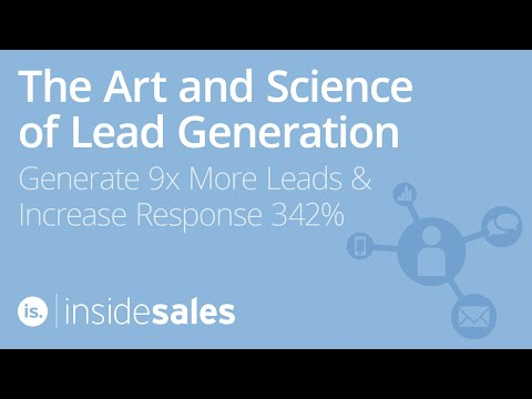 The Art and Science of Lead Generation