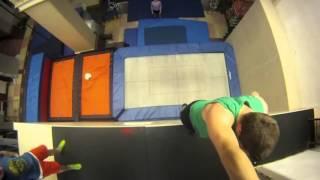 видео Прыжки на батуте. Описание, история развития