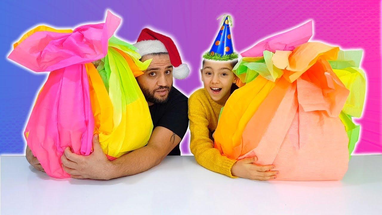 Yılbaşı Sürpriz Sepeti Yarışması Hangisi Daha Güzel? Christmas Surprise Basket Challenge