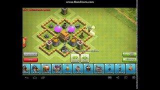 Clash of clans 5.seviye köy binası düzeni