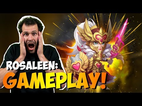 Rosaleen INSANE Game Play IS THIS REAL Castle Clash