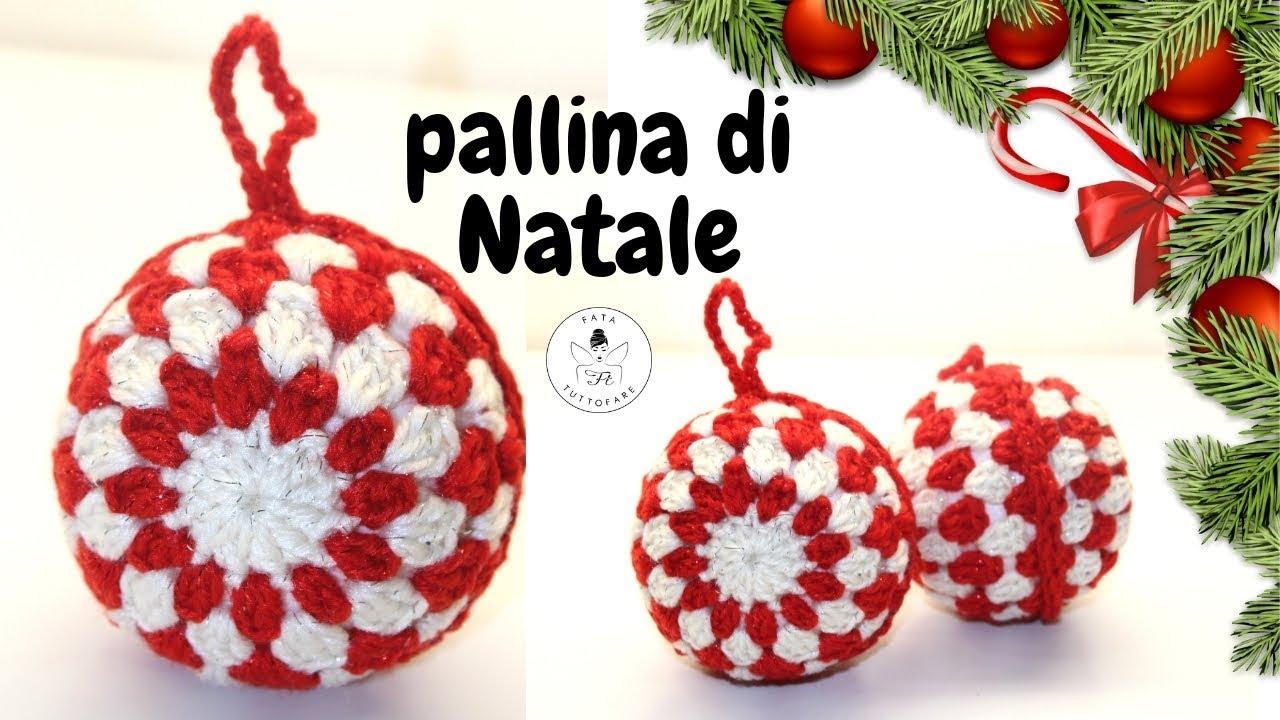 Conosciuto TUTORIAL: Pallina di Natale uncinetto/bola de navidad NU32