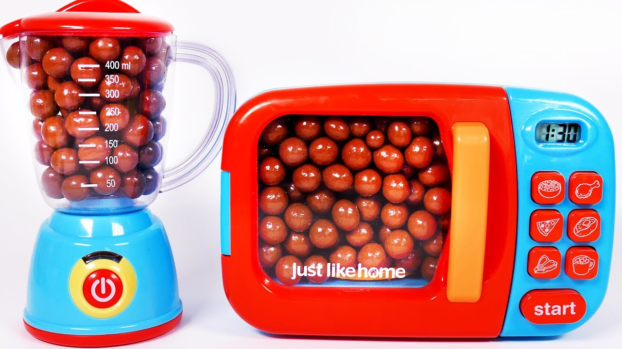 Microwave Chocolate Balls Surprise Toys For Children