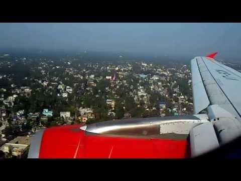 HD-Air India Airbus A319 AI-772 Landing Kolkata NSCB