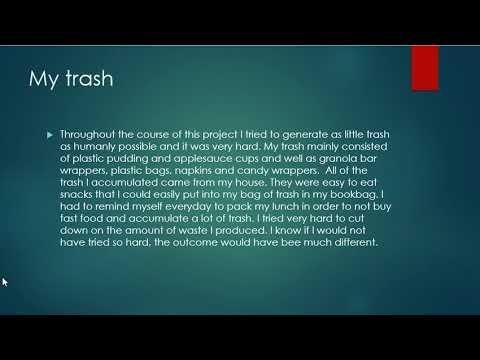 Alexandria Brannon The Life of Trash