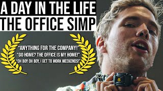 A DAY IN THE LIFE - THE OFFICE SIMP | #grindreel