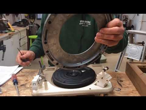 GARRARD Turntable Restoration By Darrel Bostow
