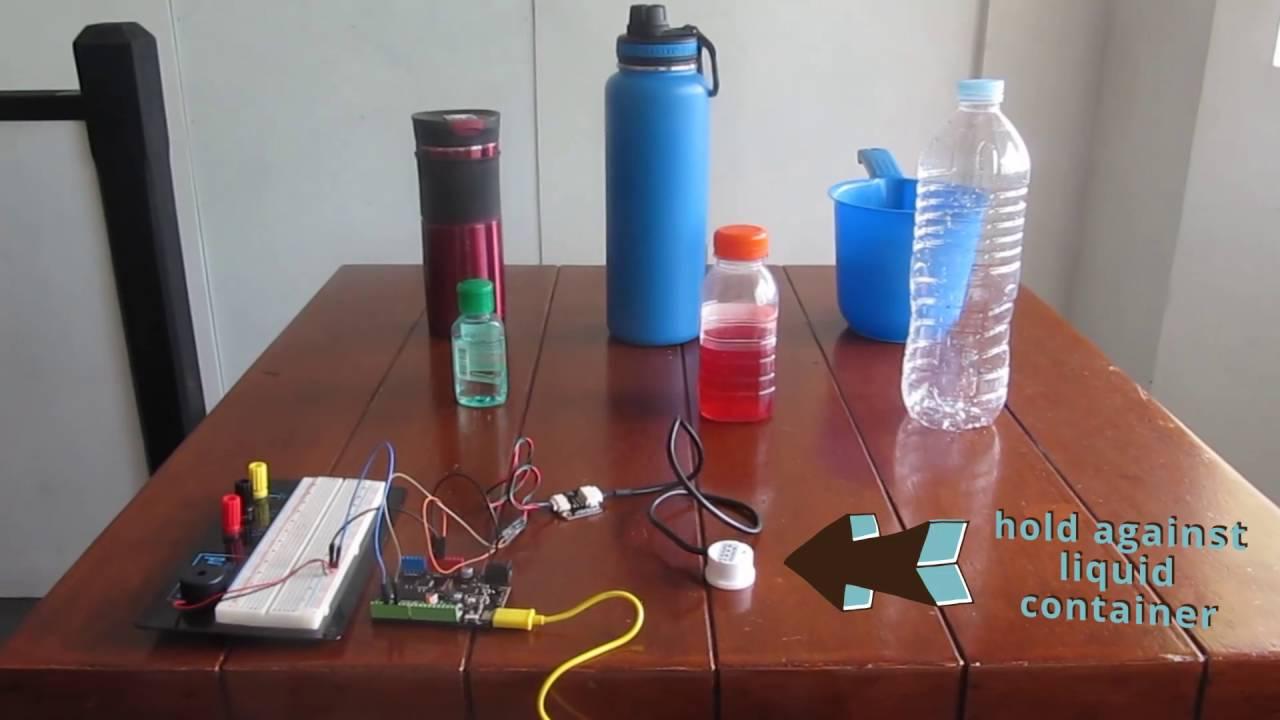 Hackattack Episode 3 Non Contact Liquid Level Sensor