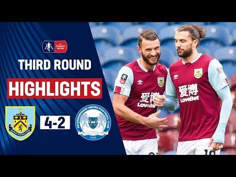 Rodriguez Brace Eases Clarets Into Fourth Round   Burnley 4-2 Peterborough   Emirates FA Cup 19/20 letöltés