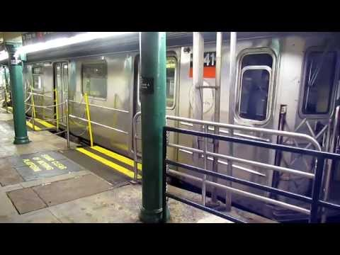 NYC Subway R62 #1842 Departs South Ferry Loop Station
