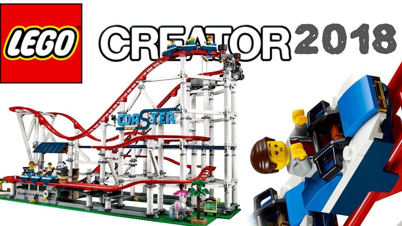 lego news lego creator 2018 expert roller coaster set. Black Bedroom Furniture Sets. Home Design Ideas
