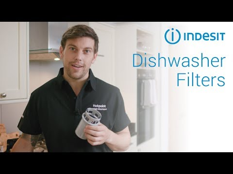 How to clean your dishwasher filter | by Indesit