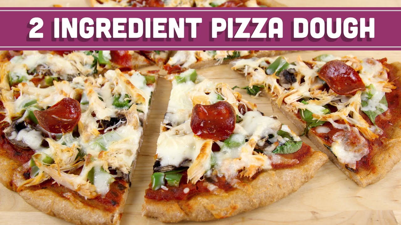 2 ingredient pizza dough healthy pizza and breadsticks mind over